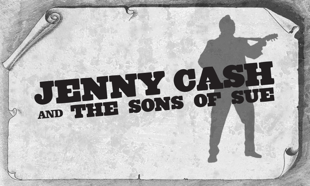 Jenny Cash and the sons of Sue